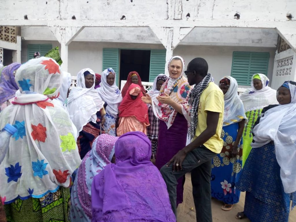 Meeting with Elder Women of Kabadio Village, The Casamance, Senegal, February 2019