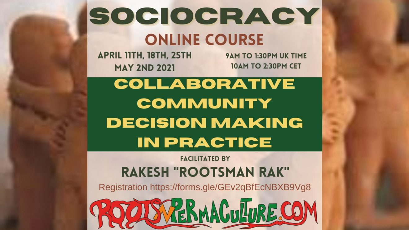 Sociocracy - Collaborative community decision making in practice - Online Course